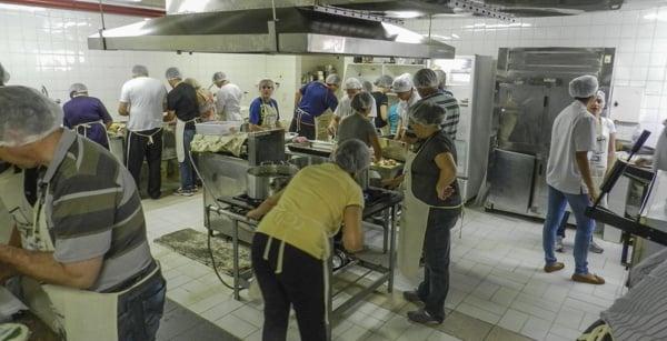 Experiência gastronomica da Catuetê Treinamentos GAST2