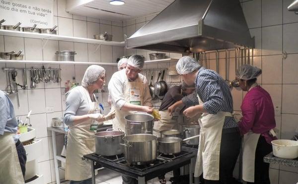 Experiência gastronomica da Catuetê Treinamentos GAST5